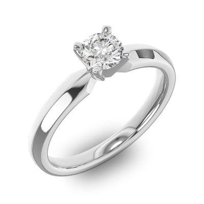 2ecff3da530c Кольцо с бриллиантом 0,5 карат - ювелирные украшения магазина Oromio ...