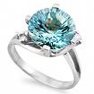 Серебряное кольцо с топазом SL-2112-470 весом 4.7 г  стоимостью 6200 р.