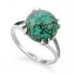 Кольцо с бирюзой серебро SL-2295-345 весом 3.45 г  стоимостью 2200 р.