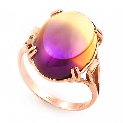Кольцо с аметрином 6.11 г SL-2865-611