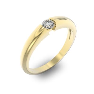 931afbb28d62 Помолвочное кольцо с бриллиантом - ювелирные украшения магазина ...