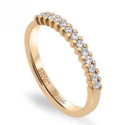 9212f506dadc Обручальное кольцо дорожка с бриллиантами - ювелирные украшения ...