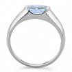 Оригинальное кольцо с аквамарином 2.85 г SLR-104-285