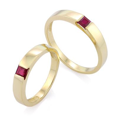 0e08c717e53c Обручальное кольцо с рубином - ювелирные украшения магазина Oromio в ...